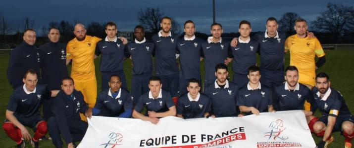 Victoire de l'equipe de france Foot aux jeux mondiaux FFSE